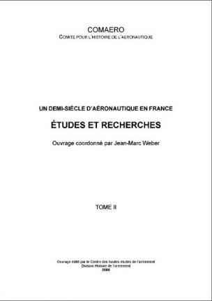COMAERO AERONAUTIQUE EN FRANCE tome II