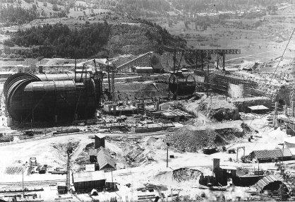 Construction de S1MA en 1948